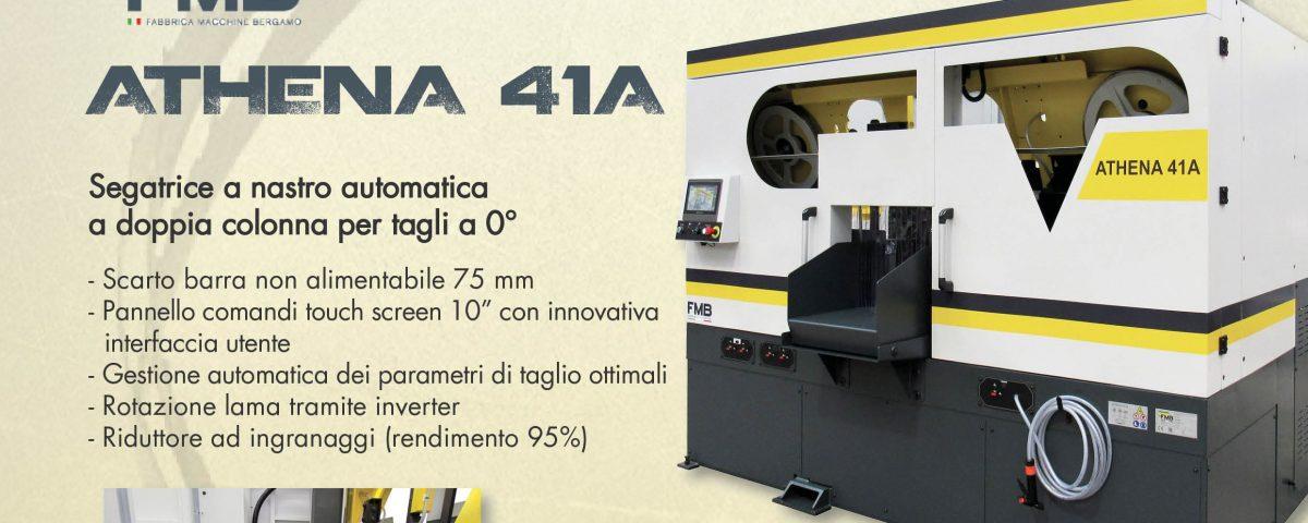 FMB: segatrice a nastro automatica ATHENA 41A